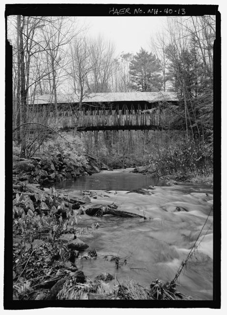Kenyon Bridge, Spanning Mill Brook, Town House Road, Cornish City, Sullivan County, NH