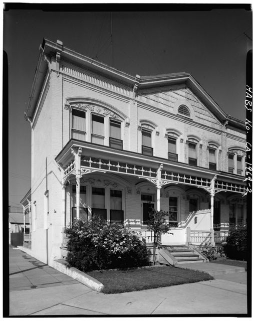 Kimball Block Rowhouses, A Avenue West side, between Ninth & Tenth Streets, National City, San Diego County, CA