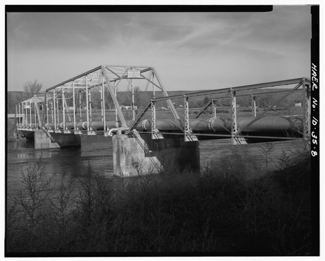 King Hill Bridge, Spanning Snake River at State Route No. 93808A, King Hill, Elmore County, ID