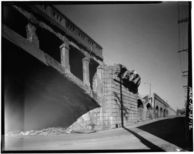 Kingshighway Viaduct, Spanning Railroad Tracks at Kingshighway Boulevard, Saint Louis, Independent City, MO