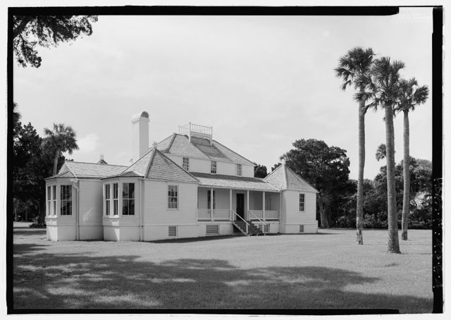 Kingsley Plantation, House, 11676 Palmetto Avenue, Jacksonville, Duval County, FL