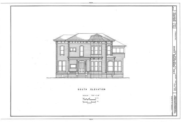 Kirk-Farrington House, 1615 Dry Creek Road, San Jose, Santa Clara County, CA