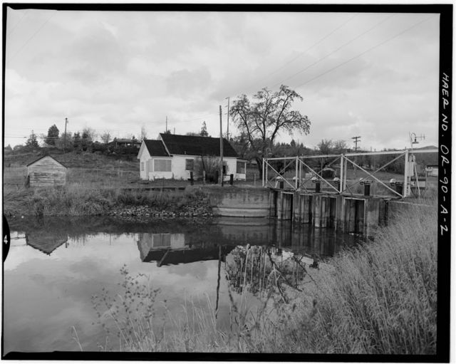 "Klamath Basin Project, ""A"" Canal Headworks House, 500 Nevada Street, Klamath Falls, Klamath County, OR"