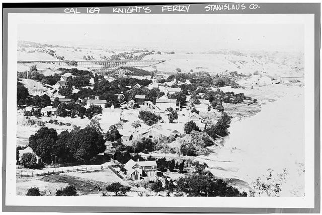 Knights Ferry, General View, Knights Ferry, Stanislaus County, CA