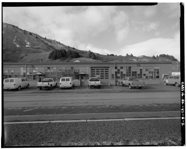 Kodiak Naval Operating Base, Wood & Machine Shop, U.S. Coast Guard Station, Kodiak, Kodiak Island Borough, AK