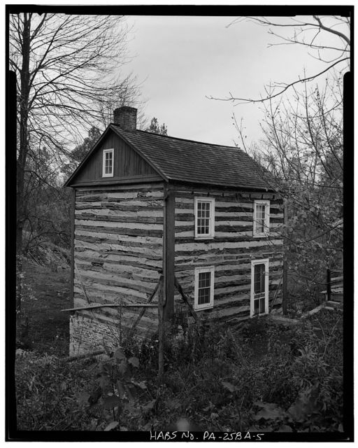 Konig-Speicher Farm, Log House, Church Road (North Heidelberg Township), Mount Pleasant, Berks County, PA