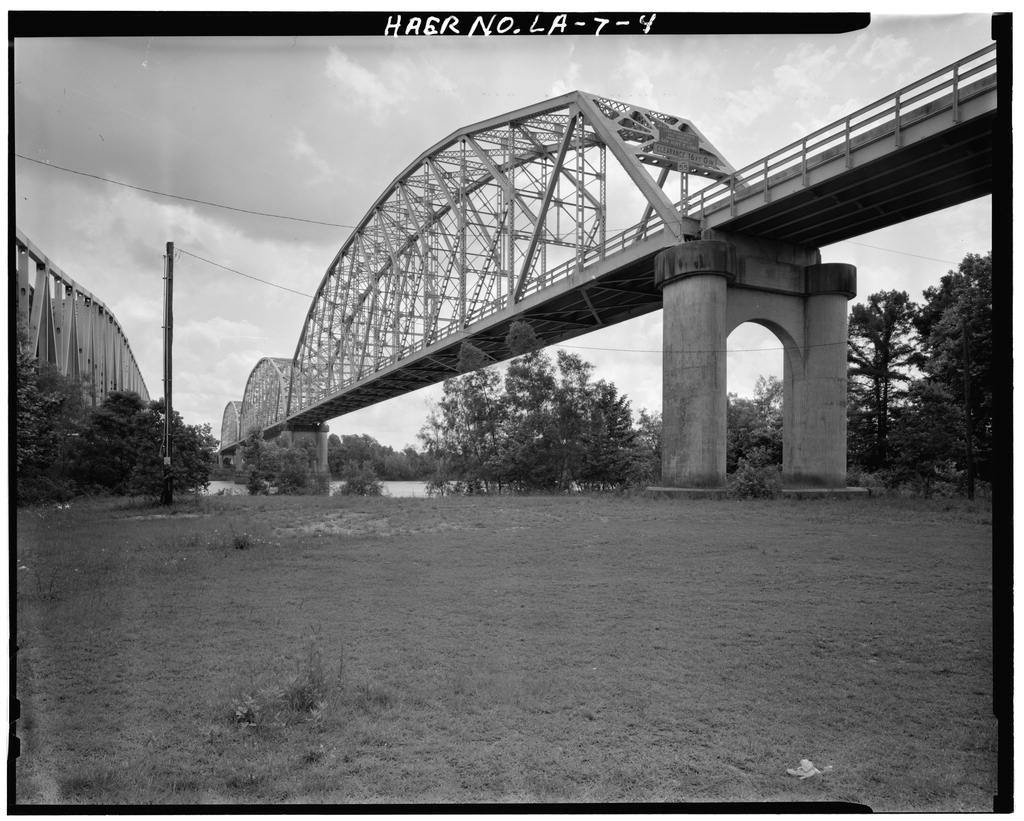 Krotz Springs Bridge, Spanning Atchafalaya River, Krotz Springs, St. Landry Parish, LA