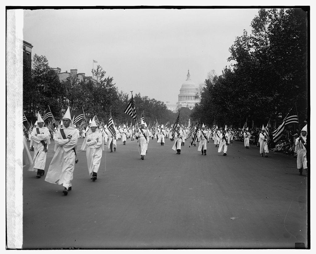 Ku Klux Klan parade, 9/13/26