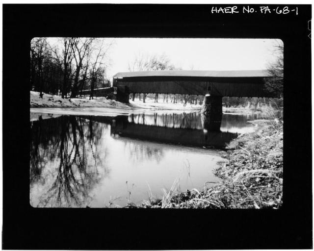 Kuhn's Fording Bridge, Spanning Conewago Creek on Township Road 552 (Hamilton & Reading townships), East Berlin, Adams County, PA