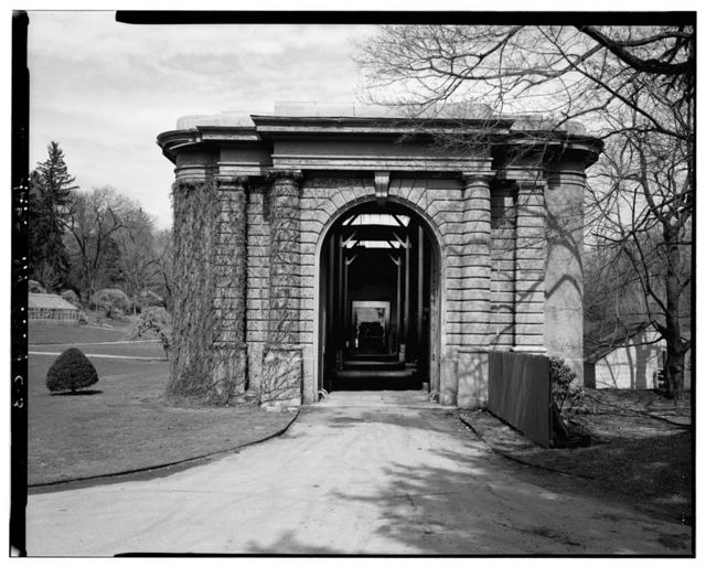 Kykuit, Orangerie & Greenhouse, 200 Lake Road, Pocantico Hills, Westchester County, NY