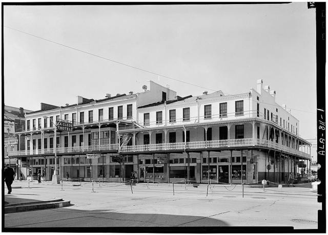 LaClede Hotel, 150-160 Government Street, Mobile, Mobile County, AL