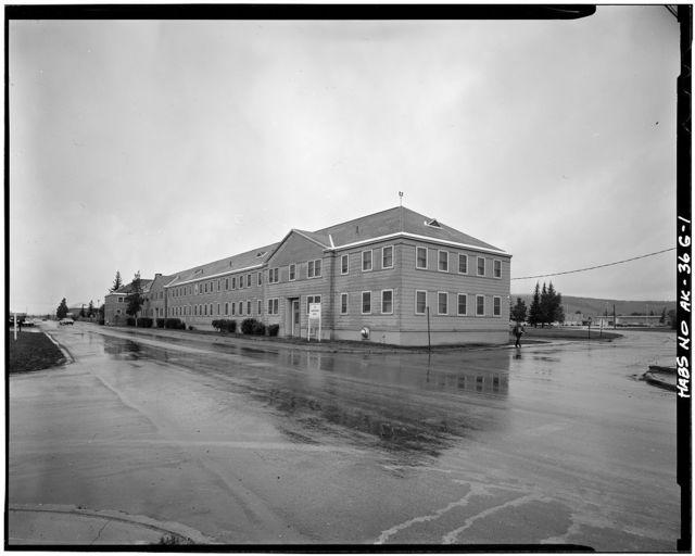 Ladd Field, Bachelor Officer Quarters, Fort Wainwright, Fairbanks, Fairbanks North Star Borough, AK