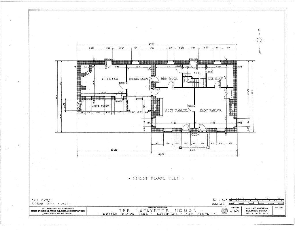 Lafayette Headquarters, Goffle Brook Park, Hawthorne, Passaic County, NJ