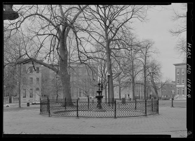Lafayette Square, Bounded by West Lafayette, North Arlington, West Lanvale & North Carrollton streets, Baltimore, Independent City, MD
