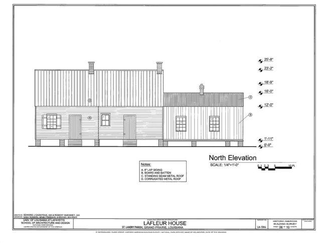 LaFleur House, 753 LA 748, Grand Prairie, St. Landry Parish, LA