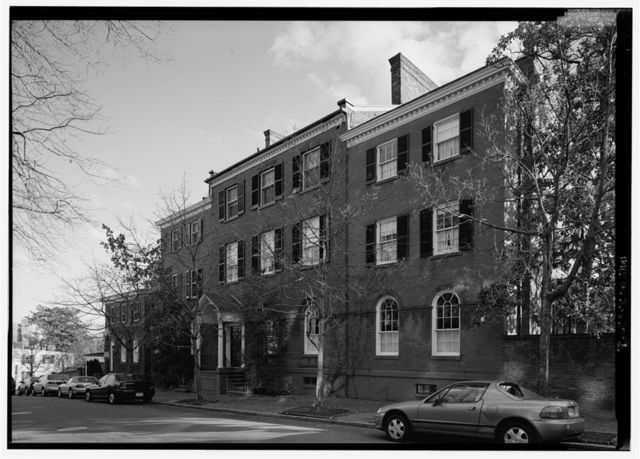 Laird-Dunlop-Lincoln House, 3014 N Street, Northwest, Washington, District of Columbia, DC