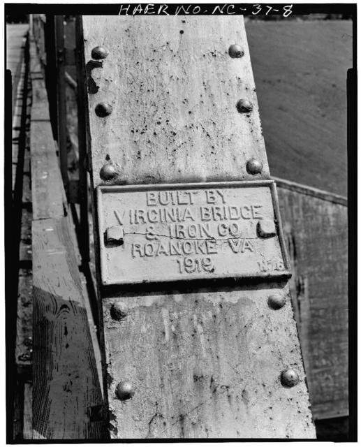Lake James Spillway Bridge, Spanning Lake James Spillway, Nebo, McDowell County, NC
