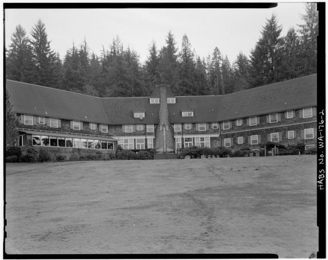 Lake Quinault Lodge, Olympic National Forest, Quinault, Grays Harbor County, WA
