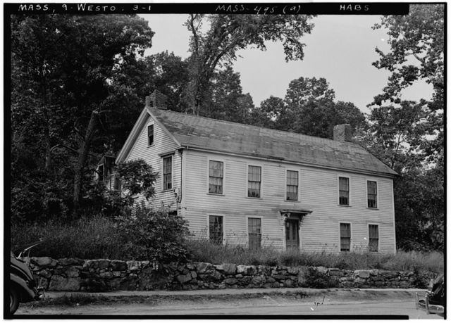 Lamson House, Weston, Middlesex County, MA