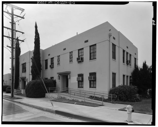 Lancaster County Center, Memorial Hall & Courthouse/Library, 4845 Cedar Avenue, Lancaster, Los Angeles County, CA