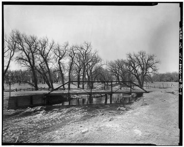 Laramie River Bridge, County Road 204, Wheatland, Platte County, WY