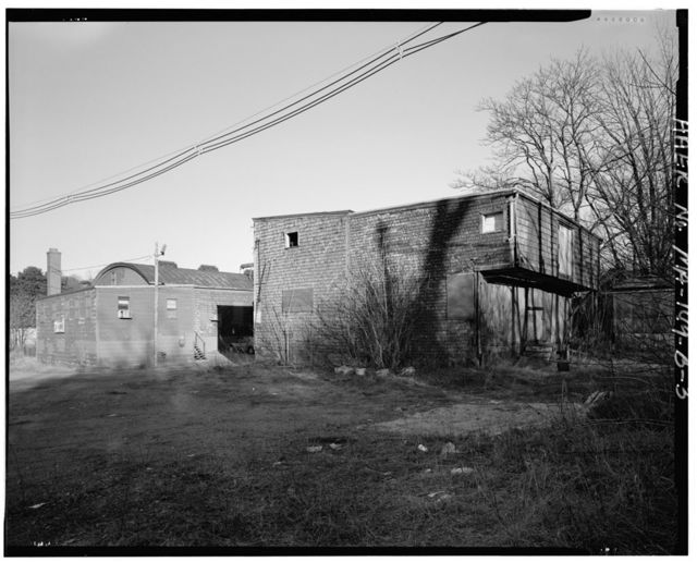 Larrabee & Hingston Company, Lumber Drying Shed, 19 Howley Street, Peabody, Essex County, MA