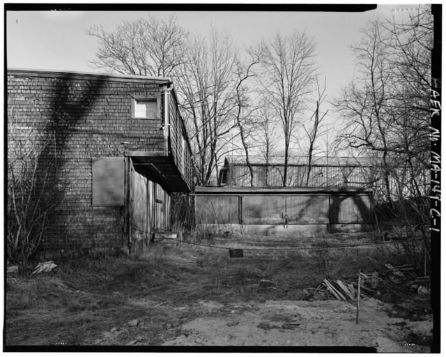 Larrabee & Hingston Company, Lumber Storage Shed No. 1, 19 Howley Street, Peabody, Essex County, MA