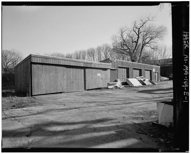 Larrabee & Hingston Company, Lumber Storage Shed No. 2, 19 Howley Street, Peabody, Essex County, MA