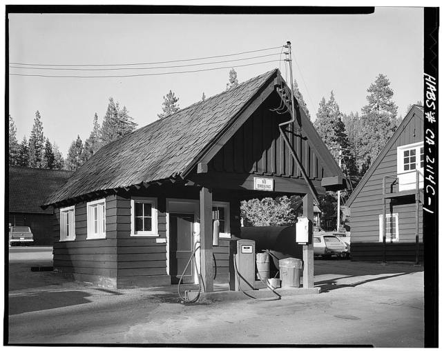Lassen Volcanic National Park, Service Station, Mineral, Tehama County, CA