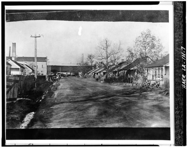 Laurel Valley Sugar Plantation, Double Creole Quarters, 2 Miles South of Thibodaux on State Route 308, Thibodaux, Lafourche Parish, LA