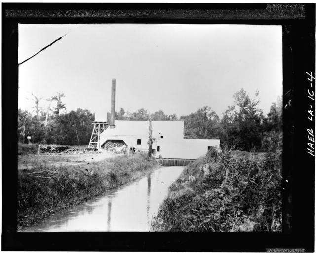Laurel Valley Sugar Plantation, Drainage Plant, 2 Miles South of Thibodaux on State Route 308, Thibodaux, Lafourche Parish, LA