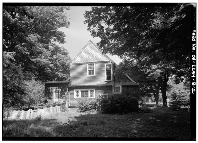 Lawnfield, Tenant House, 8095 Mentor Avenue (U.S. Route 20), Mentor, Lake County, OH