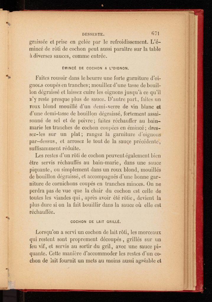 Le cuisinier européen, ouvrage contenant les meilleures recettes des cuisines françaises et étrangères pour la préparation des potages, sauces ...