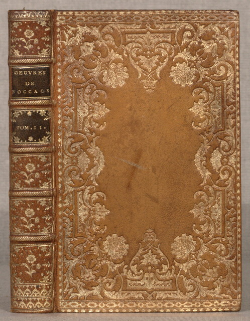 Le Decameron de Jean Boccace...Londres [i.e. Paris, Prault] 1757