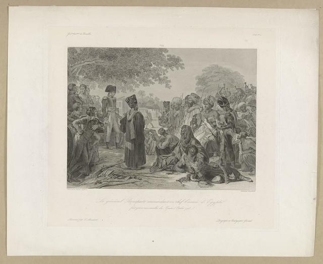 Le General Bonaparte Commandant en Chef l'Armee d'Egypte