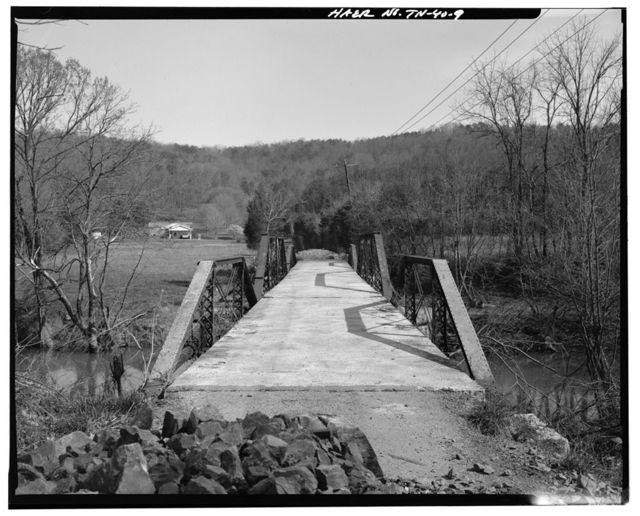 Lea Bridge, Spanning Candies Creek at Old Georgetown Road, Hopewell, Bradley County, TN