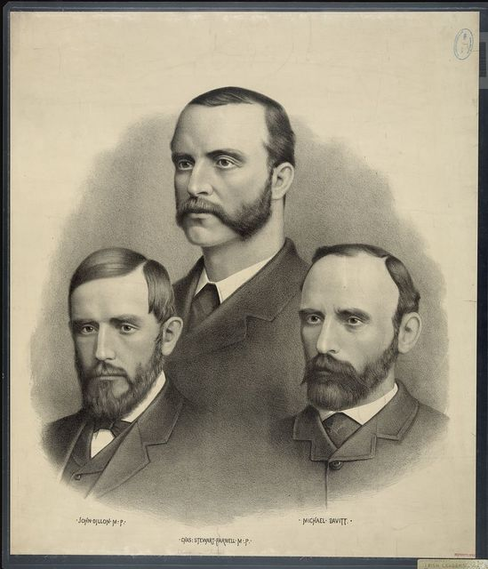 [Leaders of Ireland; John Dillon, Chas. Stewart Parnell, Michael Davitt.]