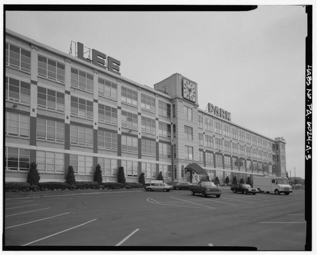 Lee Tire & Rubber Company, Plant, 1100 Hector Avenue, Conshohocken, Montgomery County, PA