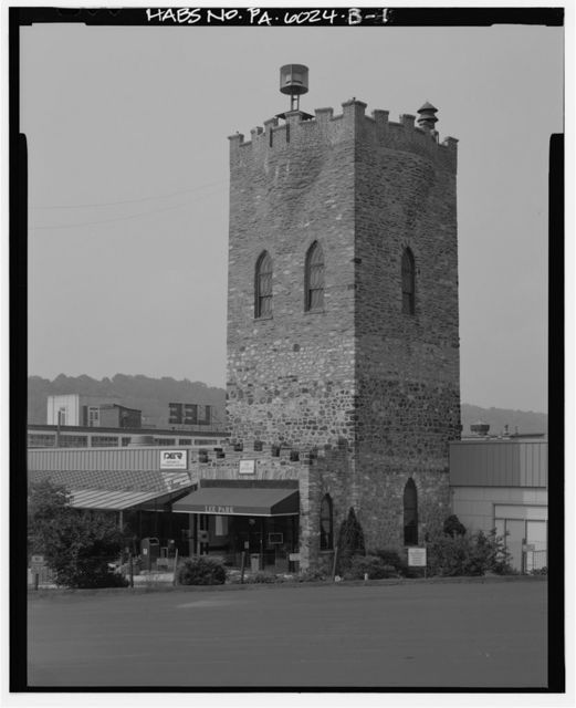 Lee Tire & Rubber Company, Water Tower, 1100 Hector Avenue, Conshohocken, Montgomery County, PA