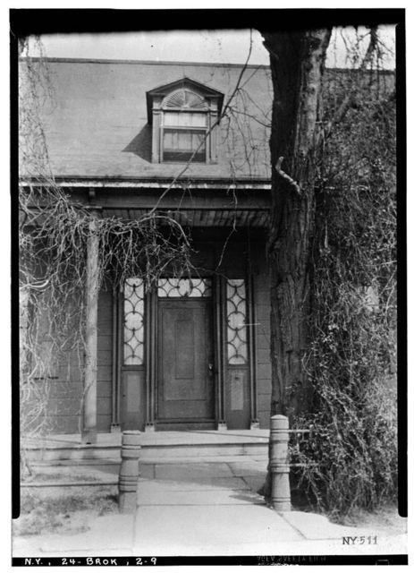 Lefferts House, Prospect Park (moved from 563 Flatbush Avenue), Brooklyn, Kings County, NY