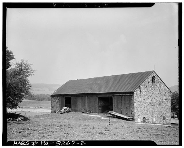 Leinbach Barn (1851), State Route 73 vicinity, Friedensburg, Schuylkill County, PA