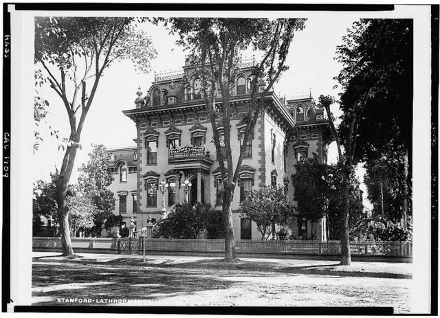 Leland Stanford House, 800 N Street, Sacramento, Sacramento County, CA