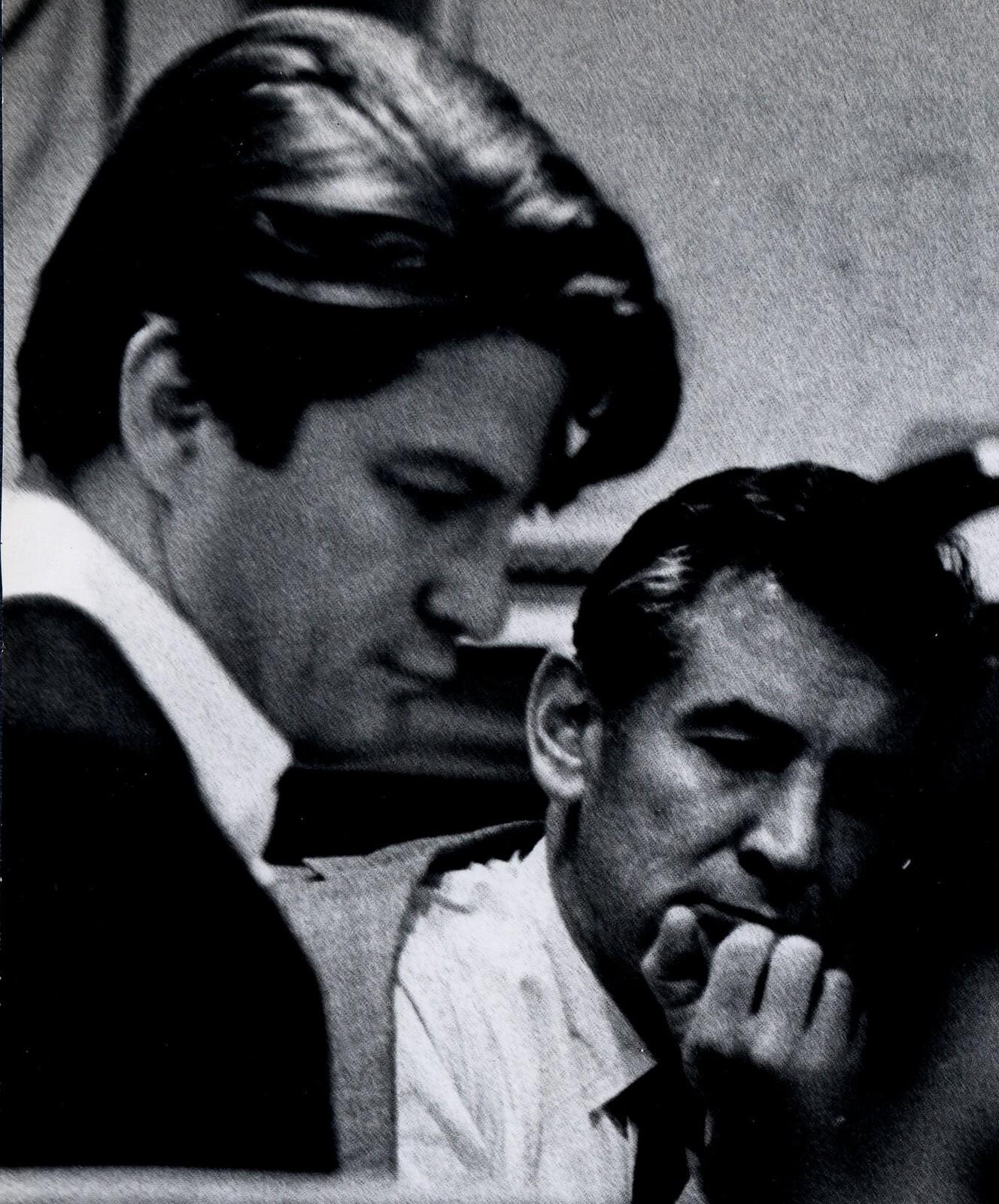 [ Leonard Bernstein and David Oppenheim]