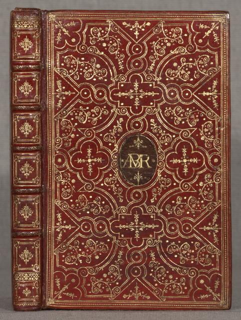Les sainctes prieres de l'ame chrestienne, escrites & grauees apres le naturel de la plume par P. Mreau. Paris, J. Henault, 1649