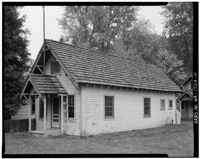 Lester Guard Station, Ranger Station House, Forest Service Road No. 45, Lester, King County, WA