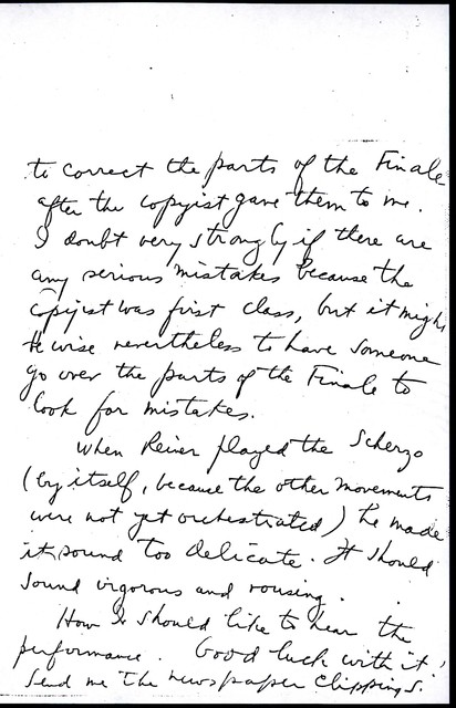 Letter from Aaron Copland to Carlos Chávez, December 5, 1930.