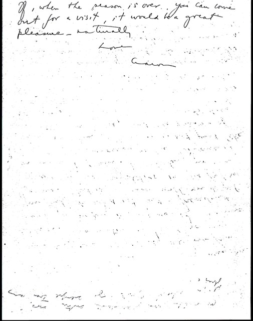 Letter from Aaron Copland to Carlos Chávez, September 4, 1937.