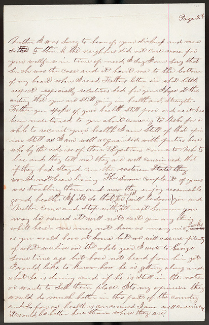 Letter from Giles S. Thomas to Thomas Family, October 6-8, 1878