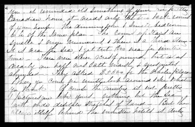 Letter from Mabel Hubbard Bell to Eliza Symonds Bell, June 30