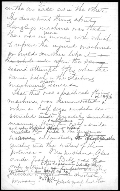Letter from Mabel Hubbard Bell, undated